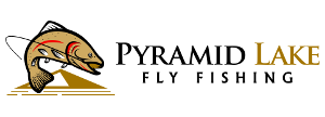 Pyramid Lake Fly Fishing Sticky Logo